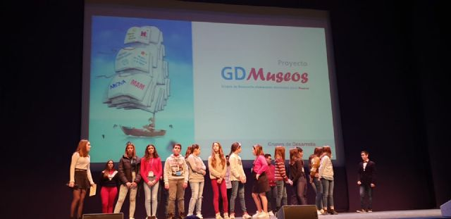 Se presenta el proyecto intercentros GD MUSEOS y está coordinado por el IES Alcántara de Alcantarilla - 4, Foto 4