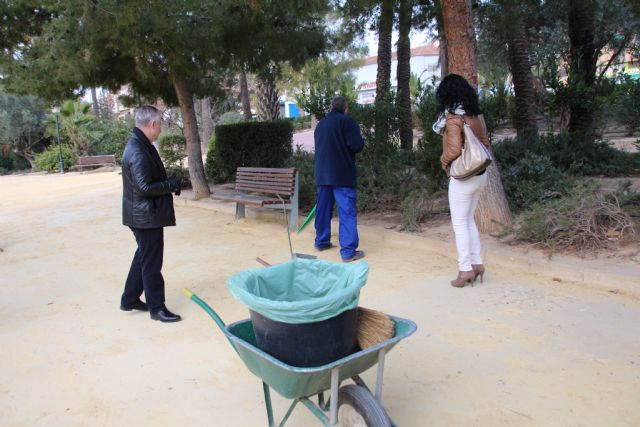 El Ayuntamiento contrata a dos operarios para su inserción laboral a través del programa Euroempleo, Foto 2