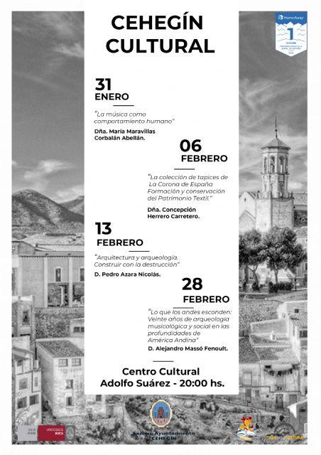 Se presenta el ciclo de conferencias Cehegín Cultural y el Certamen de Teatro Aficionado Ciudad de Cehegín - 2, Foto 2