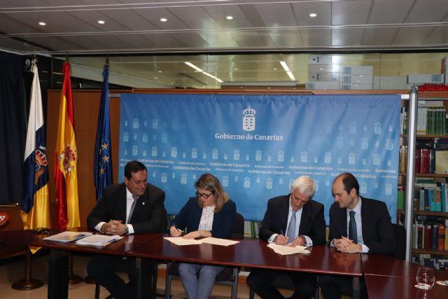 La Consejería de Agricultura y Agroseguro firman un nuevo convenio para el fomento de los seguros agrarios en Canarias - 2, Foto 2
