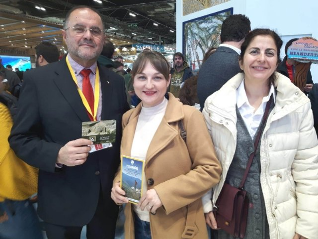 The mayor and the Councilor for Tourism participate in the events organized at the International Tourism Fair (Fitur), Foto 2