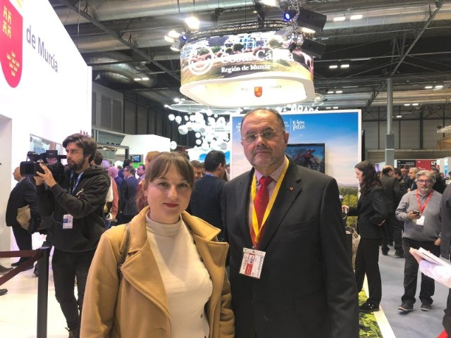 The mayor and the Councilor for Tourism participate in the events organized at the International Tourism Fair (Fitur), Foto 3