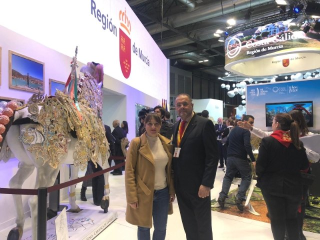 The mayor and the Councilor for Tourism participate in the events organized at the International Tourism Fair (Fitur), Foto 4