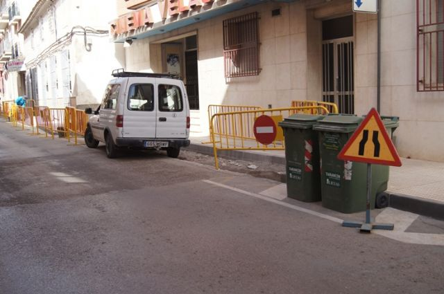 Continue apace adaptation works of Santa Eulalia Avenue