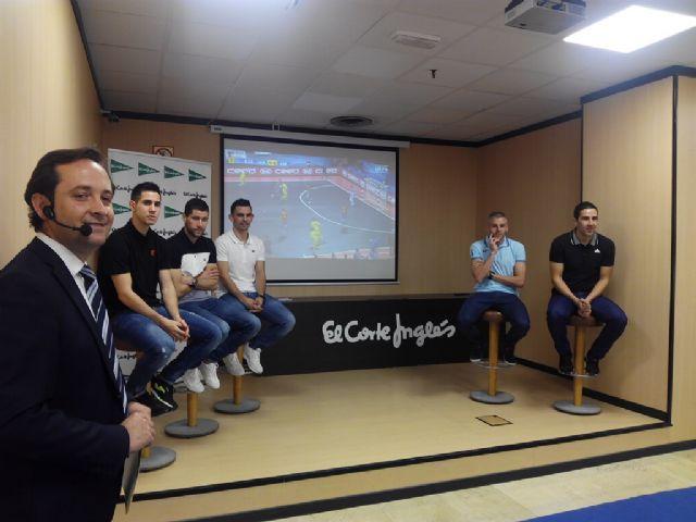 El Corte Inglés rinde Homenaje a los Campeones de Europa de ElPozo Murcia F.S. - 2, Foto 2