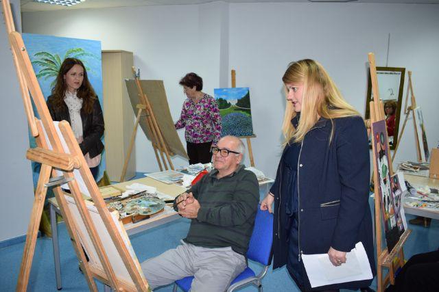 Jornada de envejecimiento activo en el Centro de Día - 1, Foto 1