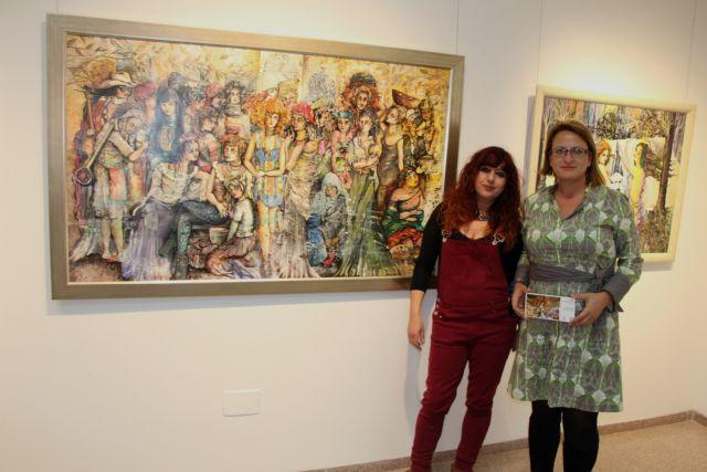 La pintora alhameña Pepi Cava expone