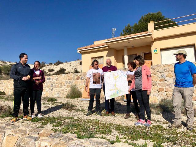 Exitoso comienzo de la 2ª edición de Caminos con Fortuna con la presentación del mapa topográfico del Humedal de Ajauque y Rambla Salada - 1, Foto 1