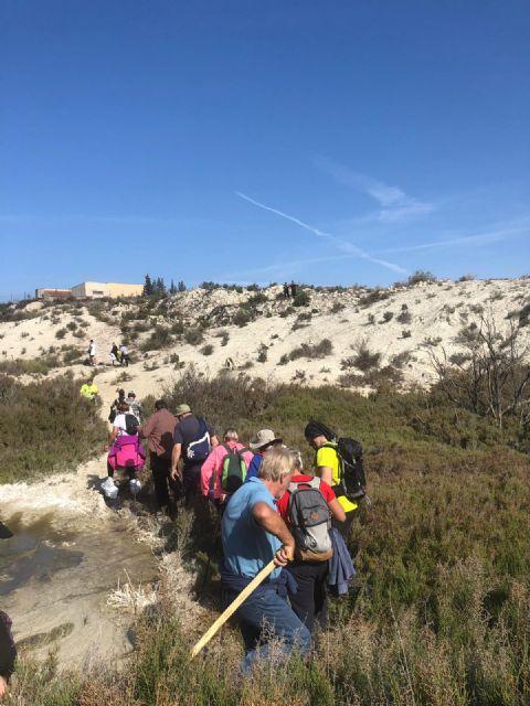 Exitoso comienzo de la 2ª edición de Caminos con Fortuna con la presentación del mapa topográfico del Humedal de Ajauque y Rambla Salada - 2, Foto 2
