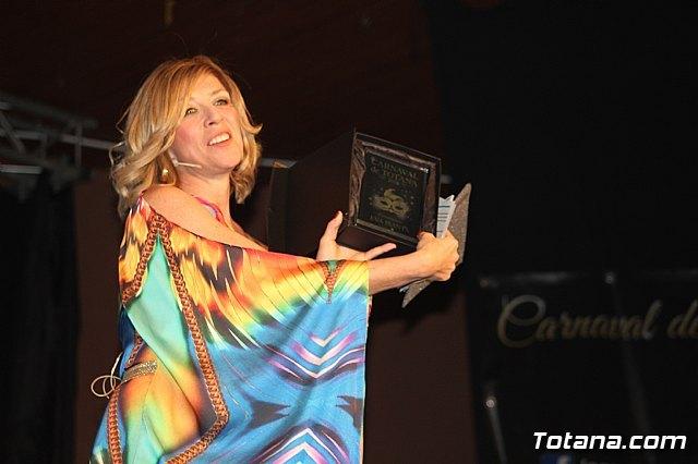 Eva Isanta durante el trascurso de la gala 2019 / Totana.com, Foto 2
