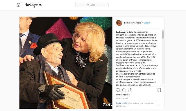 Bárbara Rey, muy enfadada por ser sustituida como presentadora de la Gala del Pregón del Carnaval - 3, Foto 3