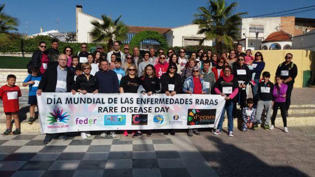 D´Genes organiza una marcha solidaria y una mañana de juegos en Campos del Río con motivo del Día Mundial de Enfermedades Raras - 4, Foto 4