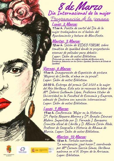 El Ayuntamiento de Librilla conmemora el 8 de marzo con una Tertulia-Merienda sobre la menopausia - 1, Foto 1