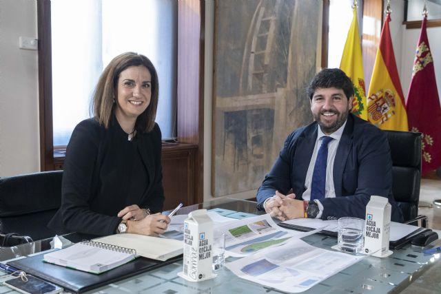 López Miras y la alcaldesa de Archena avanzan en asuntos prioritarios como las infraestructuras y el turismo de salud - 1, Foto 1