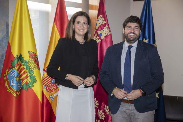 López Miras y la alcaldesa de Archena avanzan en asuntos prioritarios como las infraestructuras y el turismo de salud - 2, Foto 2