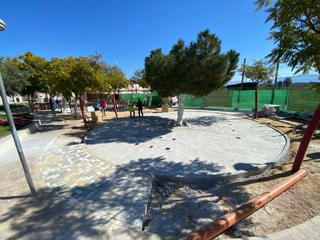 Los vecinos de La Ñora disfrutarán en primavera del renovado Jardín Calle Río Ebro - 4, Foto 4