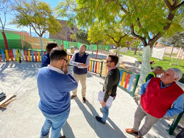 Los vecinos de La Ñora disfrutarán en primavera del renovado Jardín Calle Río Ebro - 5, Foto 5