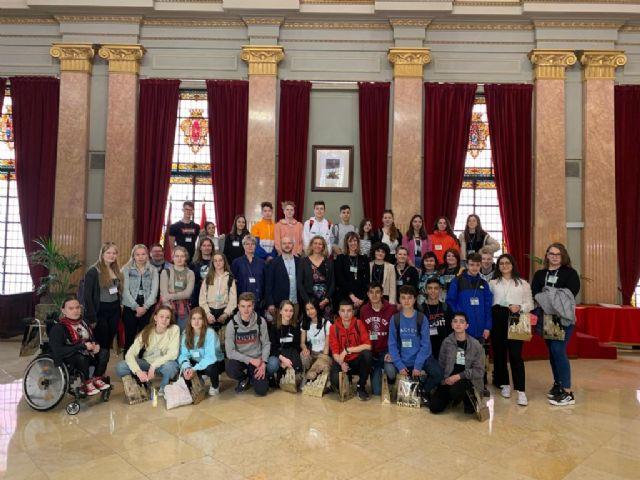 Alumnos de Dinamarca, Finlandia y República Checa visitan el Salón de Plenos gracias al proyecto Erasmus Plus - 1, Foto 1