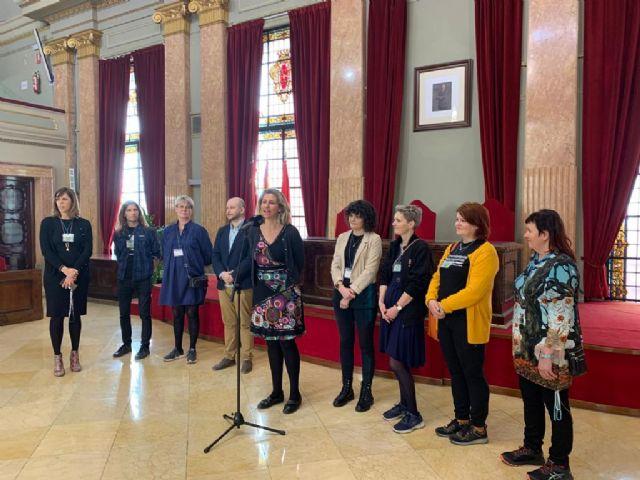 Alumnos de Dinamarca, Finlandia y República Checa visitan el Salón de Plenos gracias al proyecto Erasmus Plus - 3, Foto 3