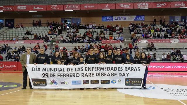 ElPozo Murcia FS ayuda a D´Genes a dar visibilidad a las enfermedades raras - 1, Foto 1