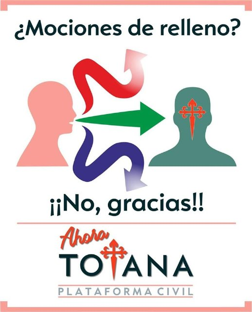La Plataforma Civil Ahora Totana informa que su moción