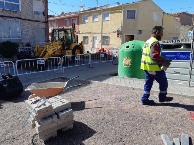 [Comienzan las obras para la instalación de una tubería de saneamiento en la calle Bolnuevo, cuyo proyecto se incluye en el POS 2020/21, Foto 3