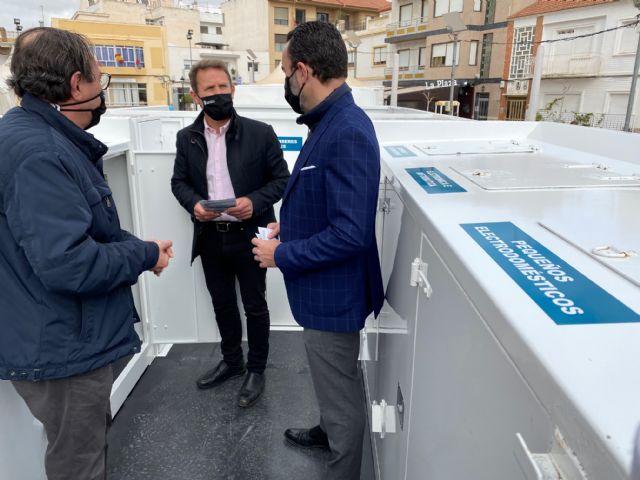 Torre Pacheco pone en marcha un ecoparque móvil para facilitar el reciclaje en todo el municipio - 1, Foto 1