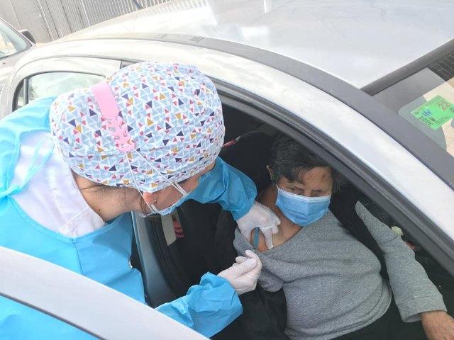 Comienza la vacunación frente al COVID-19 a grandes dependientes y mayores de 80 años de Totana - 4, Foto 4