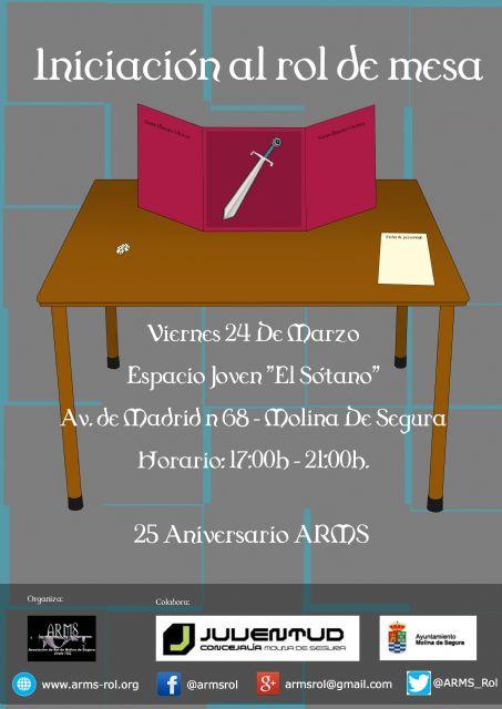 La Asociación de Rol de Molina de Segura organiza una jornada de Iniciación al Rol de Mesa hoy viernes 24 de marzo - 1, Foto 1