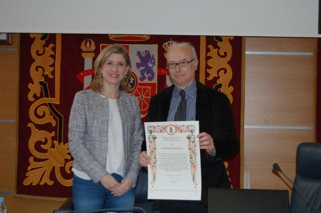 El Hospital de Molina recibe un reconocimiento institucional del Ayuntamiento molinense - 1, Foto 1