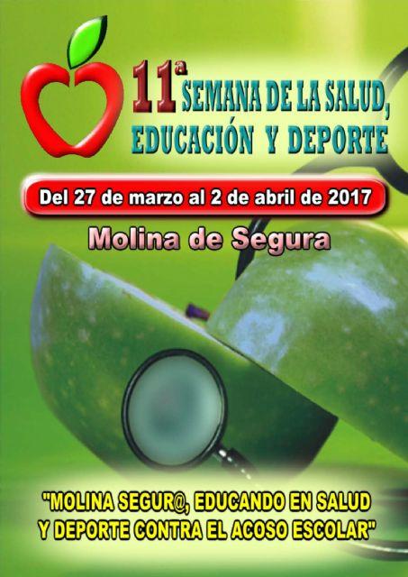 La 11ª Semana de la Salud, Educación y Deporte de Molina de Segura se celebra del 27 de marzo al 2 de abril con una amplia oferta de actividades divulgativas - 5, Foto 5