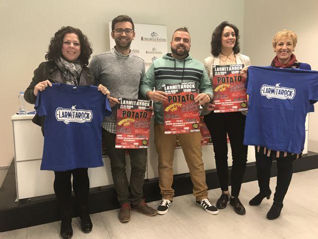 La 14 edición de LARMITAROCK sorprende con un gran cartel para una causa solidaria., Foto 1