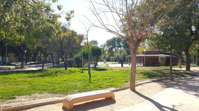 El jardín de Aviación contará en breve con un quiosco café-bar ubicado junto al parque canino - 1, Foto 1