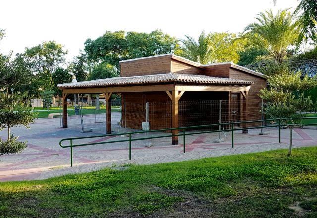 El jardín de Aviación contará en breve con un quiosco café-bar ubicado junto al parque canino - 3, Foto 3