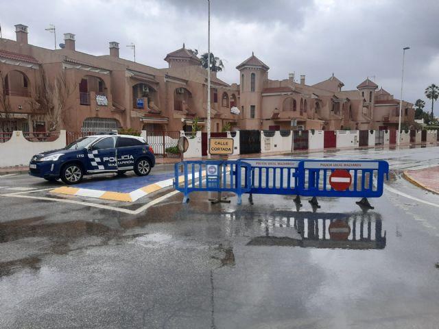 Corte de carreteras en Mazarrón con motivo de las últimas lluvias - 3, Foto 3