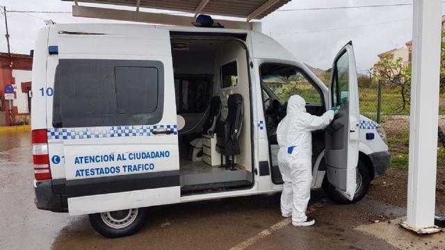 El ayuntamiento lleva a cabo una profunda desinfección en las pedanías del municipio - 1, Foto 1
