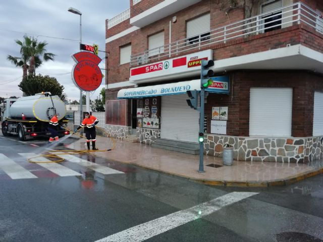 El ayuntamiento lleva a cabo una profunda desinfección en las pedanías del municipio - 2, Foto 2