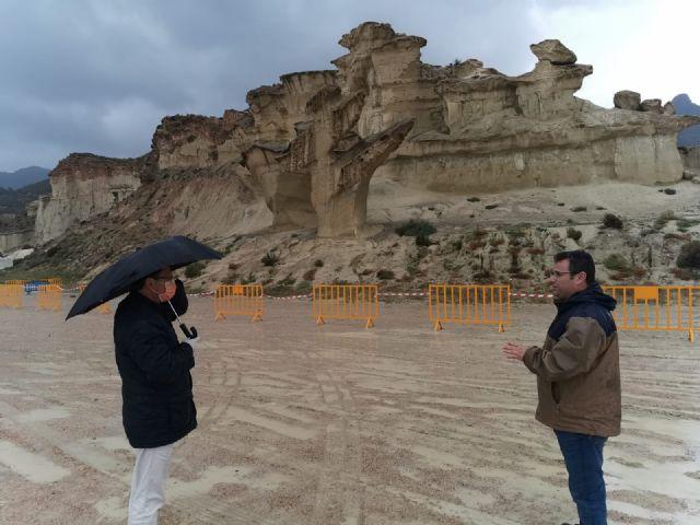 Las Erosiones de Bolnueno dañadas por el temporal, Foto 2