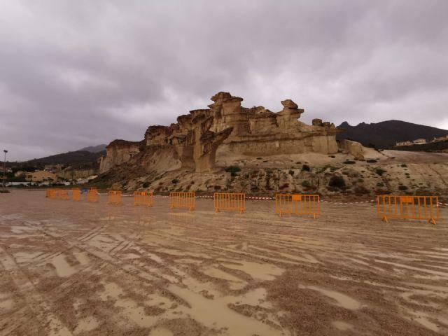 Las Erosiones de Bolnueno dañadas por el temporal, Foto 3