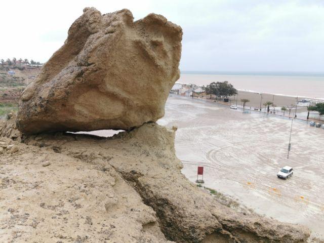 Las Erosiones de Bolnueno dañadas por el temporal, Foto 4