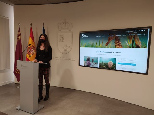 La nueva web del Canal Mar Menor mejora la accesibilidad a la información sobre el estado del ecosistema - 1, Foto 1