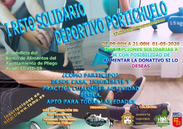 I Reto Deportivo Solidario Portichuelo Senderos Pliego - 1, Foto 1