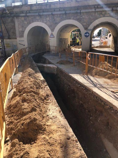 Culminan las obras de mejora de la conducción de aguas residuales del Valle de Ricote hasta la depuradora de Archena - 1, Foto 1