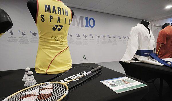 Medio millar de objetos del deporte de élite, de cerca en el Estadio de la Cartuja - 2, Foto 2