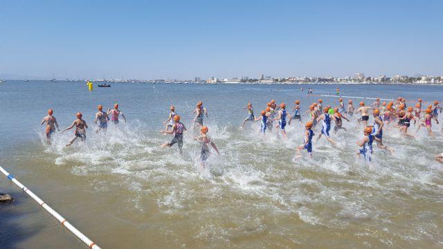 Más de 300 escolares participaron en la Final Regional Escolar Triatlón celebrada en San Pedro - 3, Foto 3