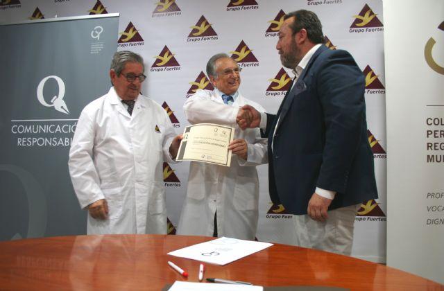 Grupo Fuertes cuenta desde hoy con el Sello de Comunicación Responsable del Colegio de Periodistas, Foto 2