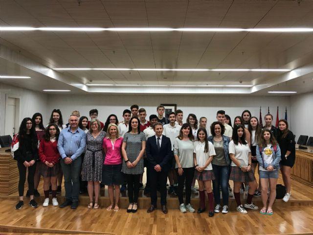 14 alumnos franceses de intercambio en Torre-Pacheco - 3, Foto 3