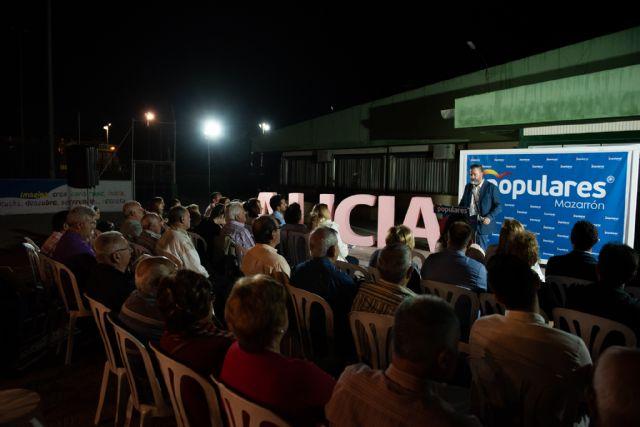 Mitin de Alicia Jiménez (PP) en Mazarrón - 1, Foto 1