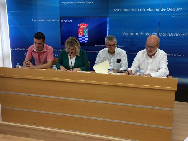 El Ayuntamiento de Molina de Segura y la Coral Polifónica Hims Mola firman un convenio para promocionar sus actividades musicales en 2019 - 3, Foto 3