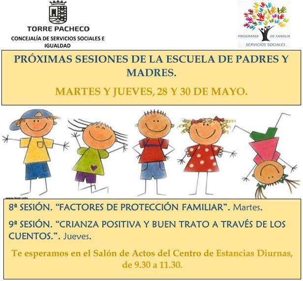 Continúan las sesiones formación para padres y madres. - 1, Foto 1